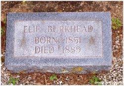 Elie Edward Burkhead