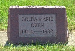 Golda Marie <i>Martin</i> Owen