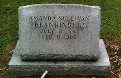Amanda <i>Sullivan</i> Blankenship