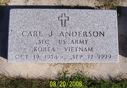 Carl James Jim Anderson