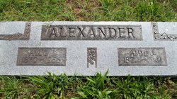 Allie Jones <i>Matthews</i> Alexander