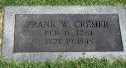 Franklin Winfield Frank Cremer