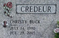 Christy Ann Nanny <i>Buck</i> Credeur