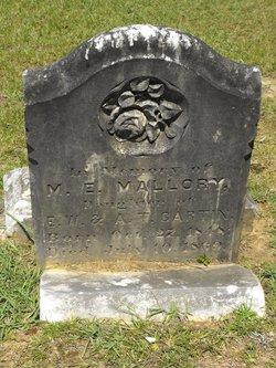 Mary E <i>Gartin</i> Mallory