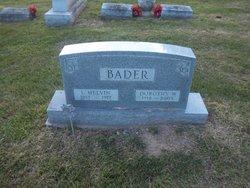 Dorothy W <i>Heller</i> Bader