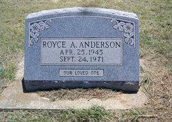 Royce A Anderson