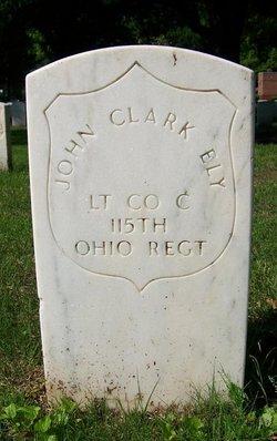 LT John Clark Ely