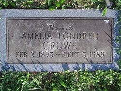Amelia <i>Fondren</i> Crowe
