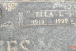 Ella Lee <i>Osborn</i> Baines