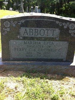 Martha Etta Ettie Abbott