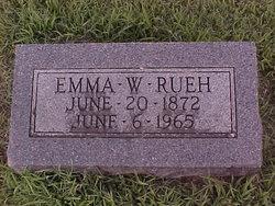Emma <i>Walker</i> Rueh