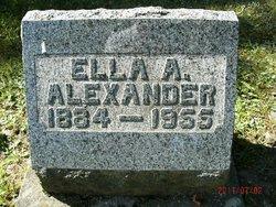 Ella A <i>Kiper</i> Alexander