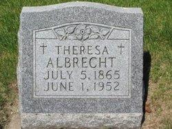 Theresa Catherine <i>Becker</i> Albrecht