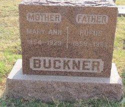 Martha Ann Mary <i>Holliman</i> Buckner