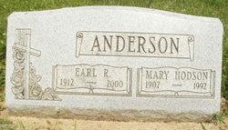 Mary <i>Hodson</i> Anderson