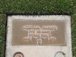 Pvt Aquilla Quilla Rambo