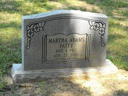 Martha <i>Adams</i> Patty