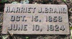 Harriet Hattie <i>Jones</i> Brand