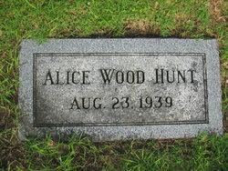Alice Foster <i>Wood</i> Hunt