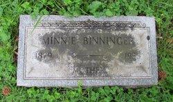 Minnie Dorothea <i>Nolte</i> Binninger