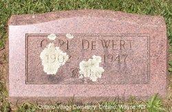Carl DeWert