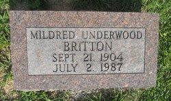Mildred <i>Underwood</i> Britton