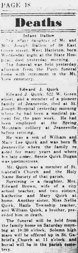 Edward Joseph Quirk