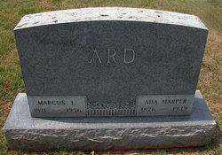 Cora Ada <i>Harper</i> Ard