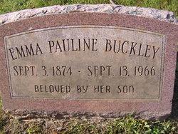 Emma Pauline <i>Murphy</i> Buckley
