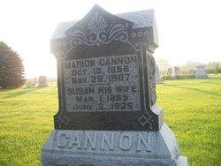 Susan <i>Peck</i> Cannon