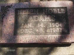 Helen Noble Adams