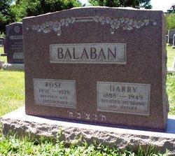 Harry Balaban