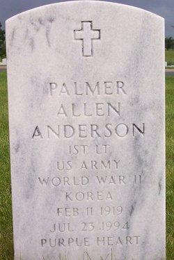 Palmer Allen Anderson