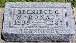 Berniece Coffing <i>McDonald</i> Hunsinger