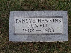 Pansye <i>Hawkins</i> Powell