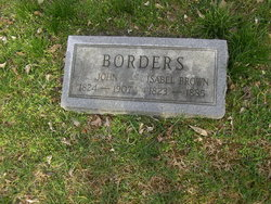 Isabel <i>Brown</i> Borders