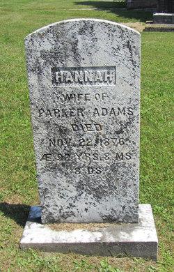 Hannah <i>Holden</i> Adams