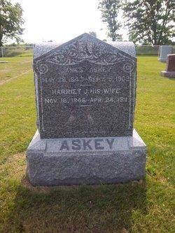 Harriet Jane Hattie <i>Yarger</i> Askey