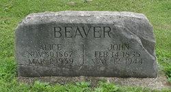 Alice <i>Swarts</i> Beaver
