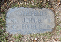 Edith Ellen <i>Butler</i> Ahlfeld