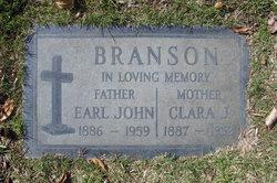 Clara J. <i>Test</i> Branson
