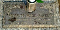 Matrude <i>James</i> Green