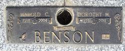 Dorothy M. <i>Hale</i> Benson
