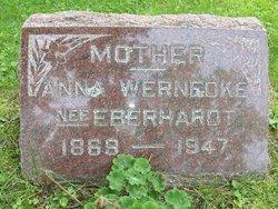 Anna <i>Eberhardt</i> Wernecke