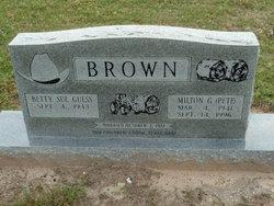 Milton Grady Pete Brown