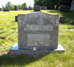 Raymond R Archambault