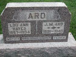 Lou Ann <i>Hayes</i> Ard