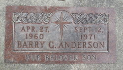 Barry Gordon Anderson