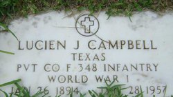 Pvt Lucien J. Campbell