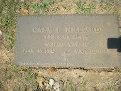 Carl F Hilliard